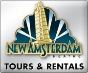 New Amsterdam Theatre - Broadway Theatre Tours and Theatre Rentals