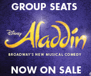 ALADDIN - Coming to Broadway Spring 2014